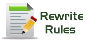 wordpress rewrite rules