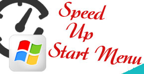 Speed Up Start Menu Load Time in Windows 7