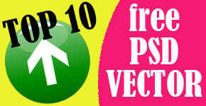 Top 10 Sites to Download Free PSD and Vector Elements
