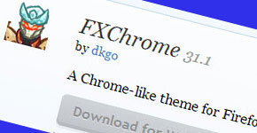 Turn Mozilla Firefox Theme as Google Chrome
