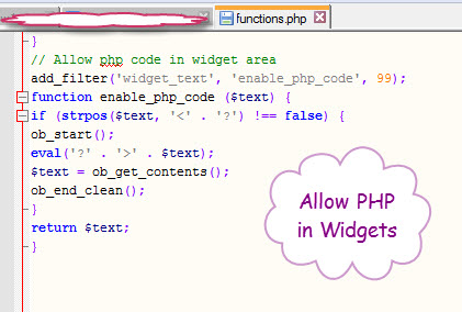 allow-php-in-widgets