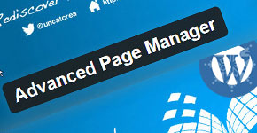 Manage Page Easily by Advanced Page Manager Plugin