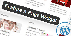 How to Feature a Page in WordPress Sidebar
