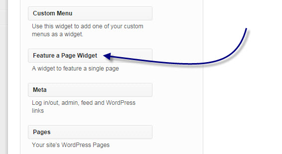 widget-to-feature-page