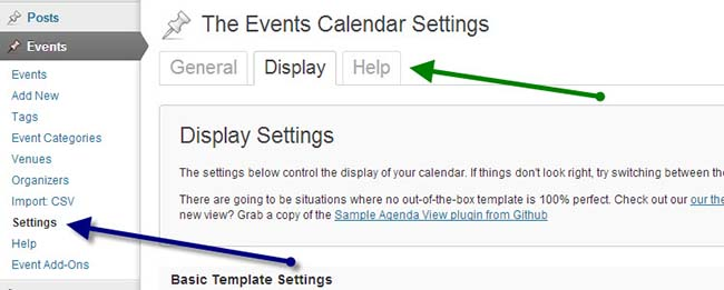 events-calendar-wp-plugin