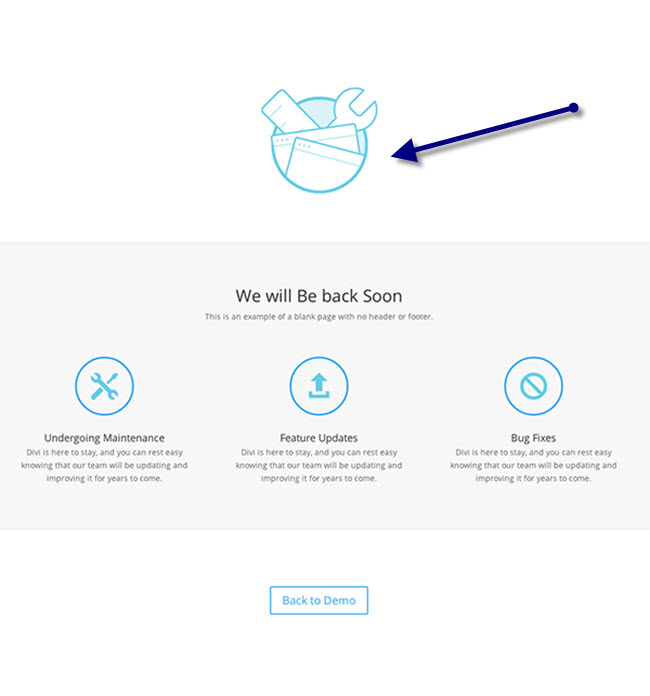 Maintenance-Divi-page-builder