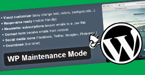 WordPress Plugin to Create A Maintenance Mode Or Coming Soon Page: Part 1