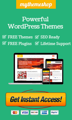 MyThemeShop WordPress Theme