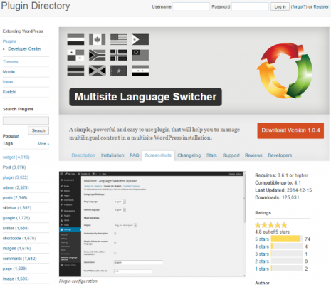 How To Make Your WordPress Website Multi Lingual Multisite Language Switcher