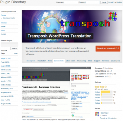 How To Make Your WordPress Website Multi Lingual Transposh