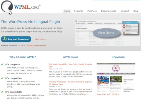 How To Make Your WordPress Website Multi Lingual WPML