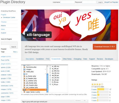 How To Make Your WordPress Website Multi Lingual xili language