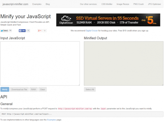 How to Minify Your Websites CSS HTML Javascript JavaScript Minifier