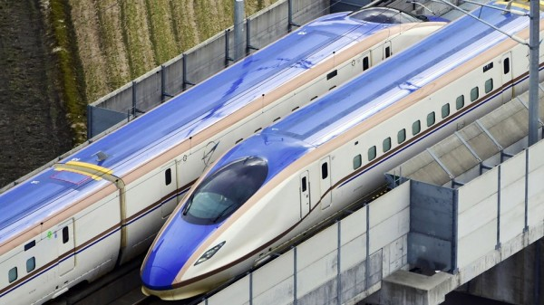 Go Inside Japan's Newest High Speed Rail with Google Street View