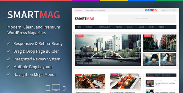 SmartMag wp theme