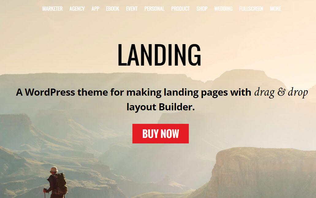 Ultimate Landing Page WordPress Theme for Internet Marketers