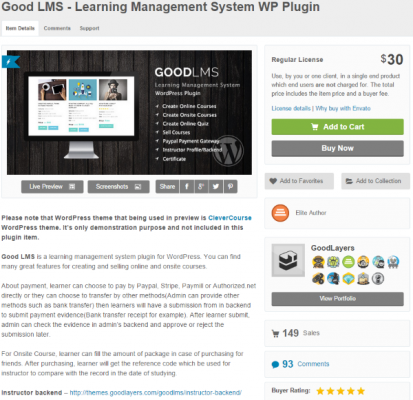 How to Create a School Website with WordPress Good LMS Learning Management System WP Plugin