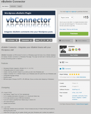 vBulletin Connector